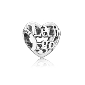 PANDORA Disney Let It Go Openwork Silver Charm