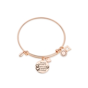 Karma Rose Gold Mother Daughter Bangle
