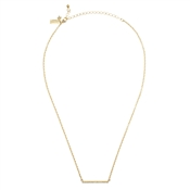 Kate Spade New York Dainty Sparklers Gold Bar Pendant