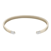CLUSE Idylle Gold Marble Open Cuff Bracelet