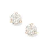 Kate Spade New York Rise and Shine Small Clear Stud Earrings