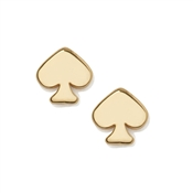 Kate Spade New York Signature Mini Gold Spade Stud Earrings