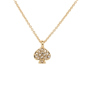 Kate Spade New York Signature Gold Spade Necklace