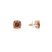 Kate Spade New York Small Rose Square Stud Earrings