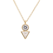 Kate Spade New York Bright Ideas Triangle Gold Mini Pendant
