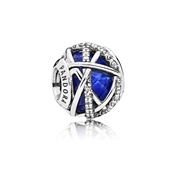 Pandora Royal Blue Galaxy Charm