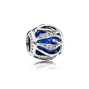 PANDORA Royal Blue Natures Radiance Charm