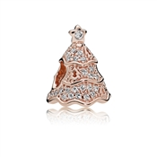 PANDORA Rose Twinkling Christmas Tree Charm