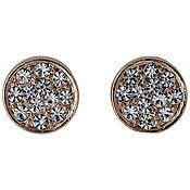 Pilgrim Grace Rose Gold Plated Stud Earrings