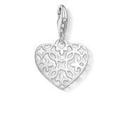 Thomas Sabo Silver Arabesque Heart Charm