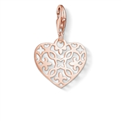 Thomas Sabo Rose Gold Arabesque Heart Charm
