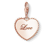Thomas Sabo Token of Love Rose Gold Heart Charm