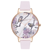 Olivia Burton Pretty Blossom Rose Gold Watch
