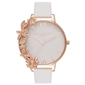 Olivia Burton Case Cuff Blush & Rose Gold Watch