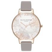 Olivia Burton Argento Exclusive Abstract Floral Watch