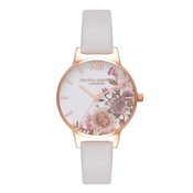 Olivia Burton Enchanted Garden Blush & Rose Gold Watch