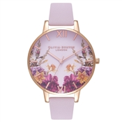 Olivia Burton Enchanted Garden Rose Gold Watch