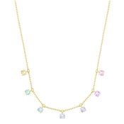 Swarovski Attract Multi-Colour Choker
