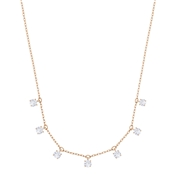 Swarovski Attract Rose Gold Crystal Choker