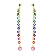 Swarovski Attract Multi-Colour Earrings