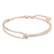 Swarovski Lifelong Rose Gold Bangle