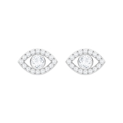 Swarovski Luckily Evil Eye Earrings