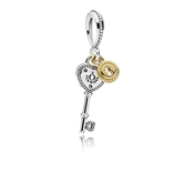 PANDORA Key to My Heart Pendant Charm