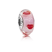 PANDORA Kisses All Around Glass Murano Charm