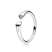 PANDORA Two Hearts Ring