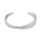 Pilgrim Jenifer Silver Plated Bangle