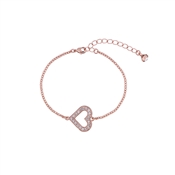 Ted Baker Edriana Enchanted Heart Rose Gold Bracelet