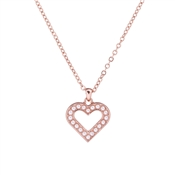 Ted Baker Evaniar Enchanted Heart Rose Gold Pendant