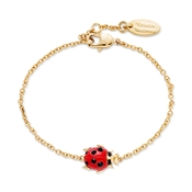 Vivienne Westwood Ladybird Red and Gold Bracelet