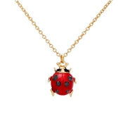 Vivienne Westwood Ladybird Red and Gold Necklace