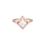 Ted Baker Paladia Pearl Frame Square Ring