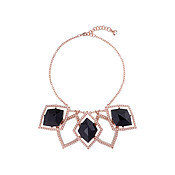 Ted Baker Roma Regal Black Gem Necklace