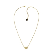 Karl Lagerfeld Gold Choupette Necklace