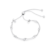 Argento Silver Double Layer Bracelet