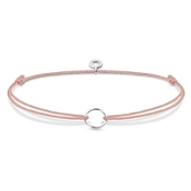 Thomas Sabo Dusty Pink Little Secrets Charm Bracelet