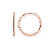 Thomas Sabo Rose Gold Hinged Hoops