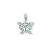 Thomas Sabo Turquoise Butterfly Charm
