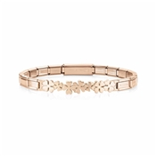 Nomination Rose Gold Trendsetter Clover Bracelet
