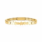 Nomination Gold Trendsetter Star Bracelet