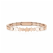 Nomination Rose Gold Trendsetter Star Bracelet