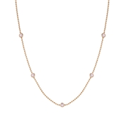 Nomination Bella Bloom Pink & Rose Gold Necklace