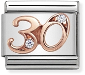 Nomination Rose Gold 30 Charm