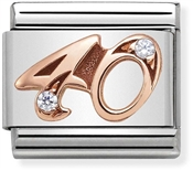 Nomination Rose Gold 40 Charm