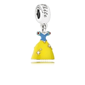PANDORA Disney Snow White's Dress Pendant Charm