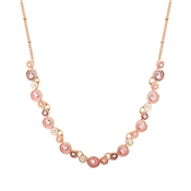 August Woods Blush Swirl Necklace