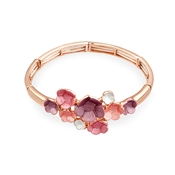 August Woods Blush Floral Bloom Bracelet